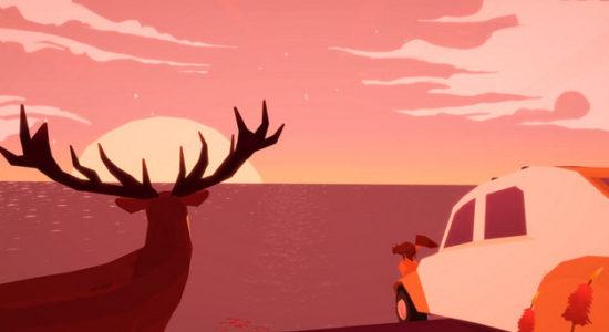 Underskatta aldrig en pratstund med en hjort!