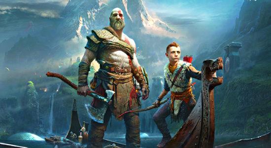 """Kratos följer trenden med sitt stora skägg och en härlig """"dad bod"""""""