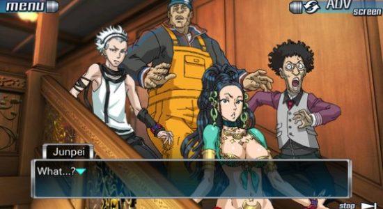 En anime-version av Jespers ständiga överraskning i spelen