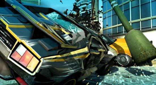 Jansen P12; en av mina favoritbilar i spelet. Här i en prikär situation...