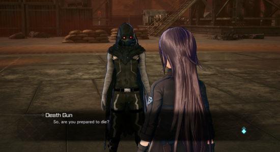 Japp, den ökände Death Gun återfinns i spelet också